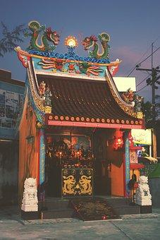 Thailand, Phuket, Religious, Travel, Tourism, Vacation
