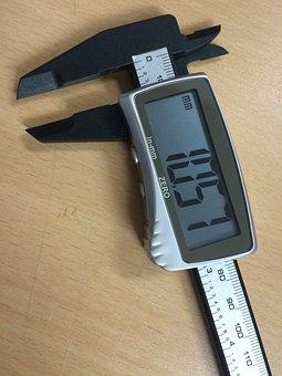 Digital Caliper, Meter, Vernier Caliper