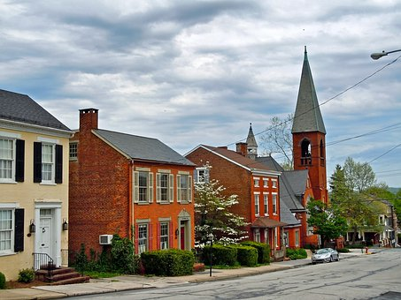 Wrightsville, Pennsylvania, Town, Church, Buildings