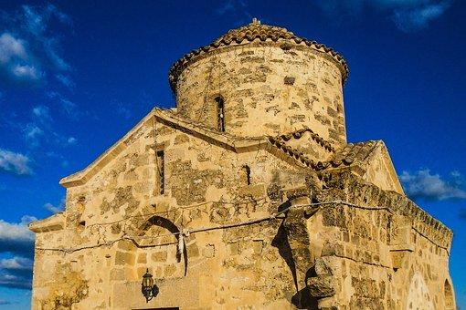 Cyprus, Vrysoules, Ayios Georgios Acheritou Church