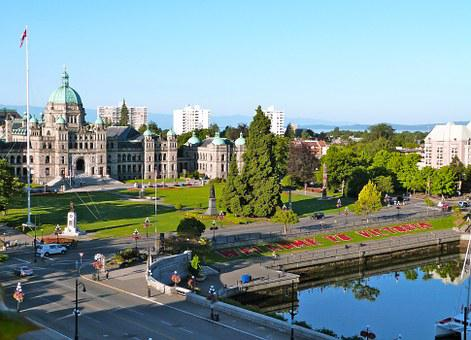 British Columbia, Parliament, Victoria, Architecture