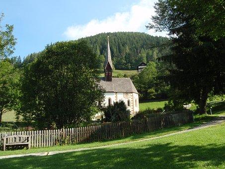 Church, Chapel, Landscape, Austria, Carinthia