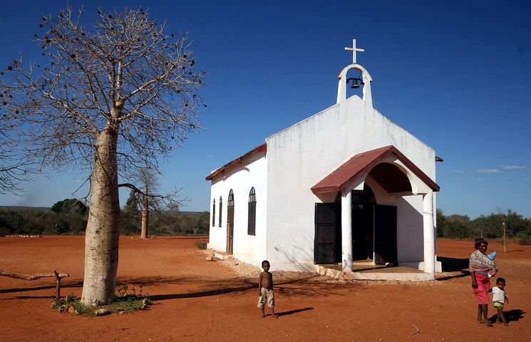 Madagascar, Religion, Locals, Catholic, Church