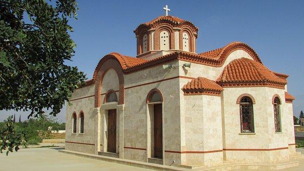 Cyprus, Paralimni, Ayios Markos, Church, Orthodox