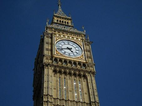Big Ben, London, England, Clock, Landmark, Parliament