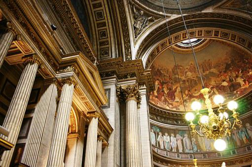 Madeleine, Church, Columns, Paris