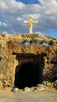 Cyprus, Ayia Thekla, Catacomb, Christianity