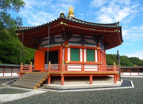 Japan, Tokyo, Temple, Daishimae