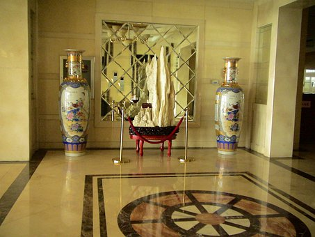 Vases, Art, China, Liaoning, Fengcheng, Phoenix Hill