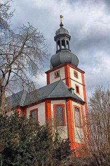 Arnstein, Germany, Church, Religion, Building, Sky