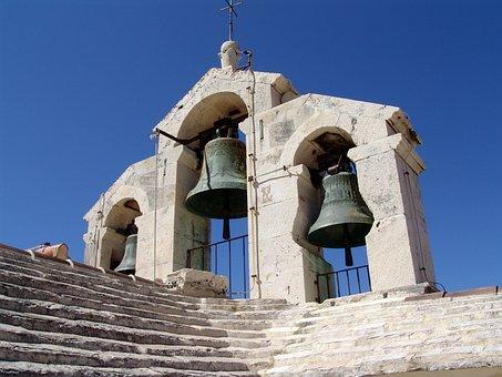 Bells, Bell Tower, Fortress Church, Hvar