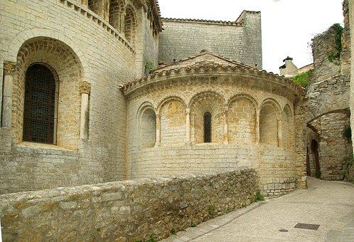 Cévennes, Romanesque Church, Medieval Village, Lane