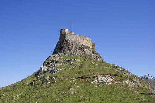 Lindisfarne, Castle, Island, Landmark, History