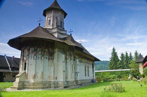 Monastery, Bukovina, Moldovita, Frescoes, Romania