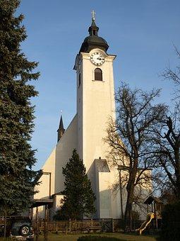 Church, Pfarrkirche, Neuhofen, Architecture, Building