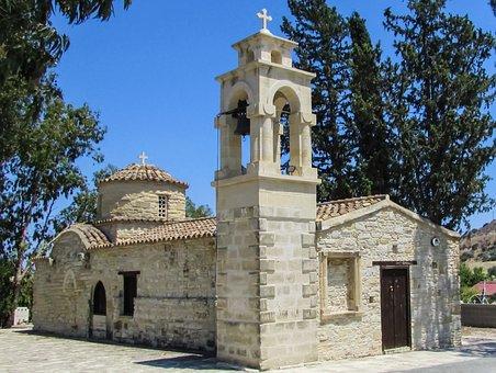 Cyprus, Alaminos, Church, Orthodox, Architecture