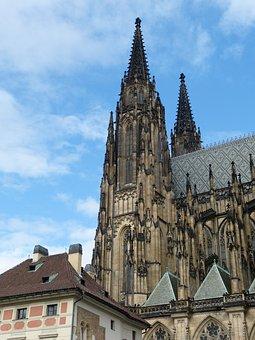 Prague, Czech Republic, Old Town, Dom, Church