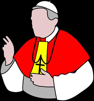 Pope, Bishop, Priest, Catholic, Religion, Church, Cross