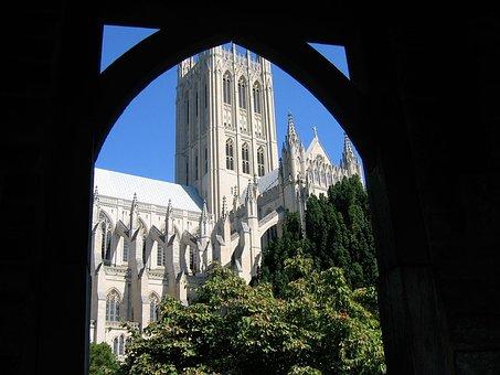 Cathedral, Church, National, Landmark, City, Religion