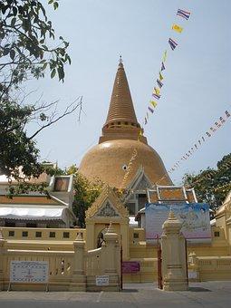 Temple, Ancient, Nakhon Nayok, Religion, Religious
