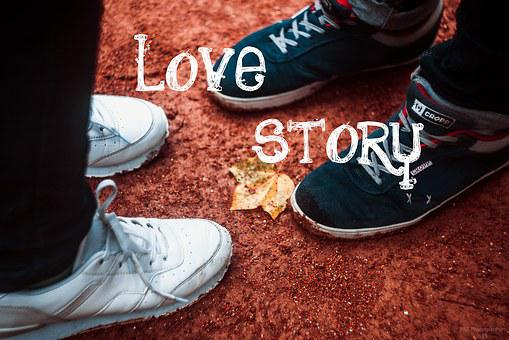 Love, Shoes, Boy And Girl, Sneakers, Two, Lavstori