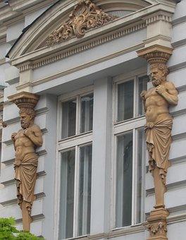 Banska Bystrica, Center, Slovakia, Building, The Façade