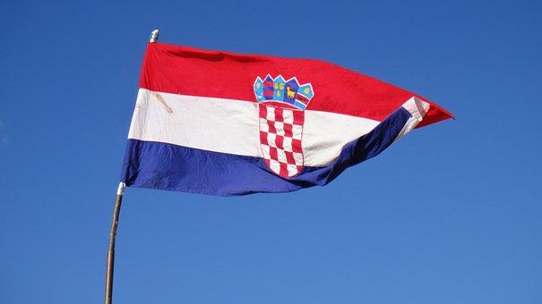 Croatia, Croatian, Croatian Flag, Wind