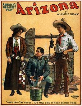 Poster, 1907, Movie, Oldies, Nostalgia, Art, Drawing