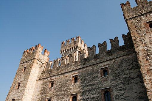 Building, Architecture, History, Castle, Cremona, Italy