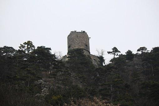 Black Tower, Castle, Fortress, Tower, Mödling