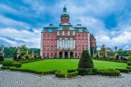 Książ, The Palace, Castle, Monument, Poland, Tourism