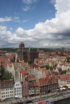 Gdansk, Mortlawa, History, Center, Sights, Church