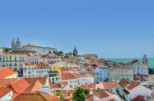 Alfama, Lisbon, Colors, Portugal, Europe, Cityscape