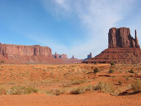 Monument Valley, Malboroland, Nature, Desert
