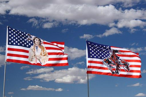 Flag, Arizona, Usa, Monument Valley, Indian, Culture
