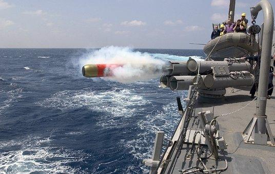 Torpedo, Launch, Weapon, Firing, Floor, Mk 46, Navy