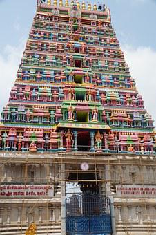 Shringeri, Gate, Temple, South India, Gopuram
