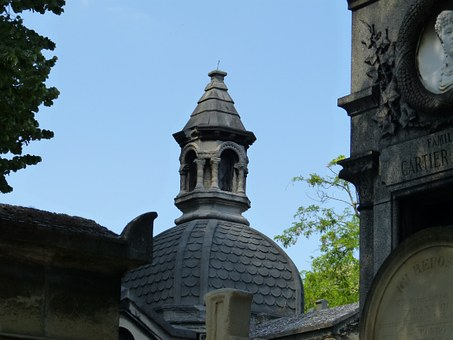 Paris, Cemetery, Père Lachaise, Grave, Rest, Memorial