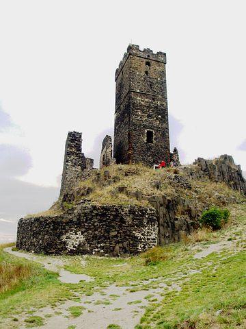 Hazenburk, Castle, The Fortifications, Architecture