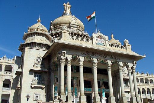 Vikasa Soudha, Vidhana Soudha, Bangalore, India