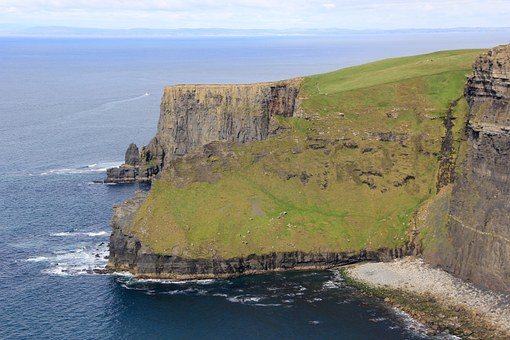 Cliffs Of Moher, Ireland, Irish, Moher, Sea, Cliff