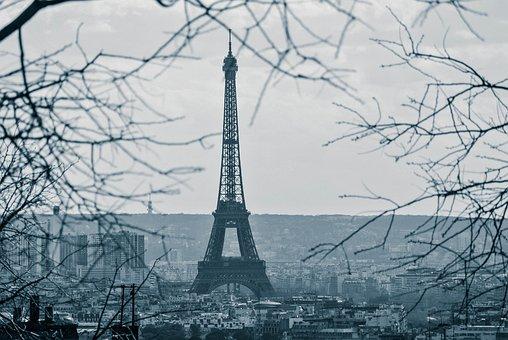 Eiffel, Tower, Paris, France, Landmark, Europe, Tourism