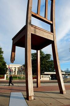 The Big Chair, Switzerland, Lausanne, Monument
