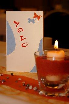 Menu, Map, Restaurant, Covered, Table, Menu Cards