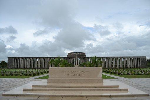 Rangoon, Hmawbi, Burma, Memorial, Monument, Graveyard