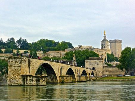 Pont Avignon, Bridge, Medieval, Monument, Landmark
