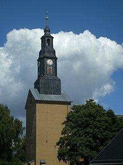 Brand-erbisdorf, Mountain Town, Steeple