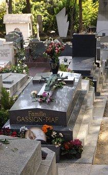 Paris, Edith Piaf, Memorial, Père Lachaise, Grave