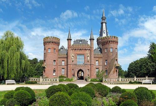 Schloss Moyland, Moyland, Castle, Architecture