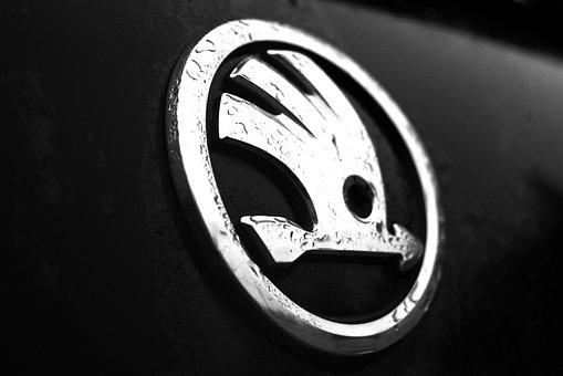 Logo, Skoda Car, Skoda, Auto